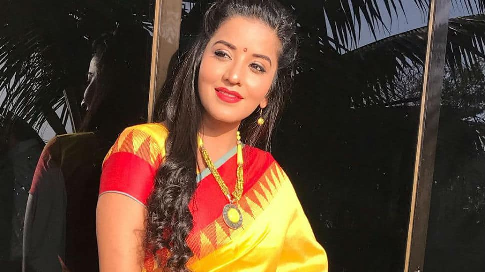 Monalisa shines bright in yellow Indian wear - Pic inside