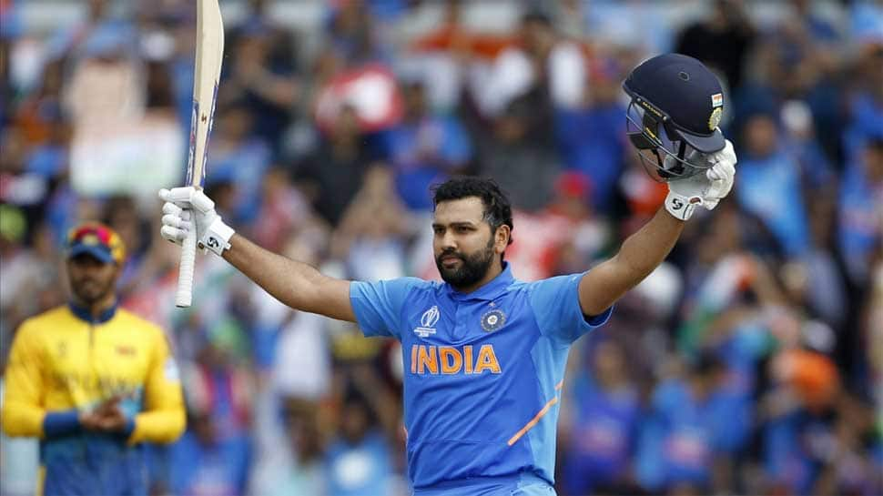 'Hit-man' Rohit Sharma smashes fifth ton, scripts World Cup record