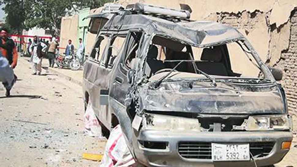 12 killed, 179 injured in Afghanistan suicide bombing