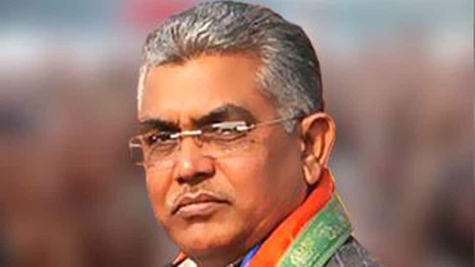 Bengal BJP chief Dilip Ghosh breaks down over party workers' killings