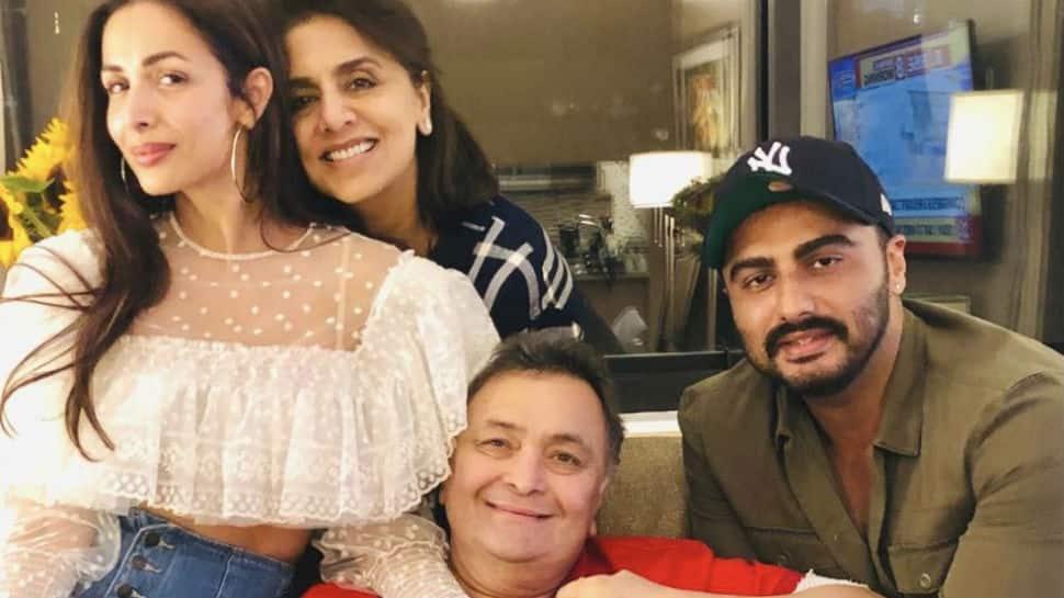 Arjun Kapoor thanks Rishi and Neetu Kapoor for hosting him and Malaika in New York