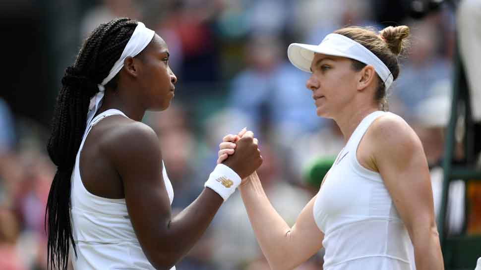 Cori 'Coco' Gauff,15, loses against Halep to crash out of Wimbledon