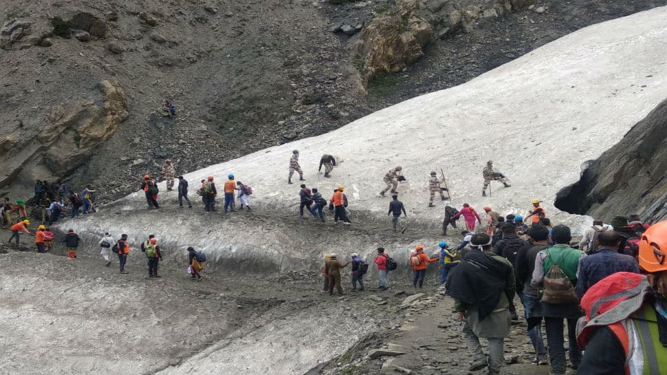 Amarnath Yatra resumes after one-day pause due to heavy rush