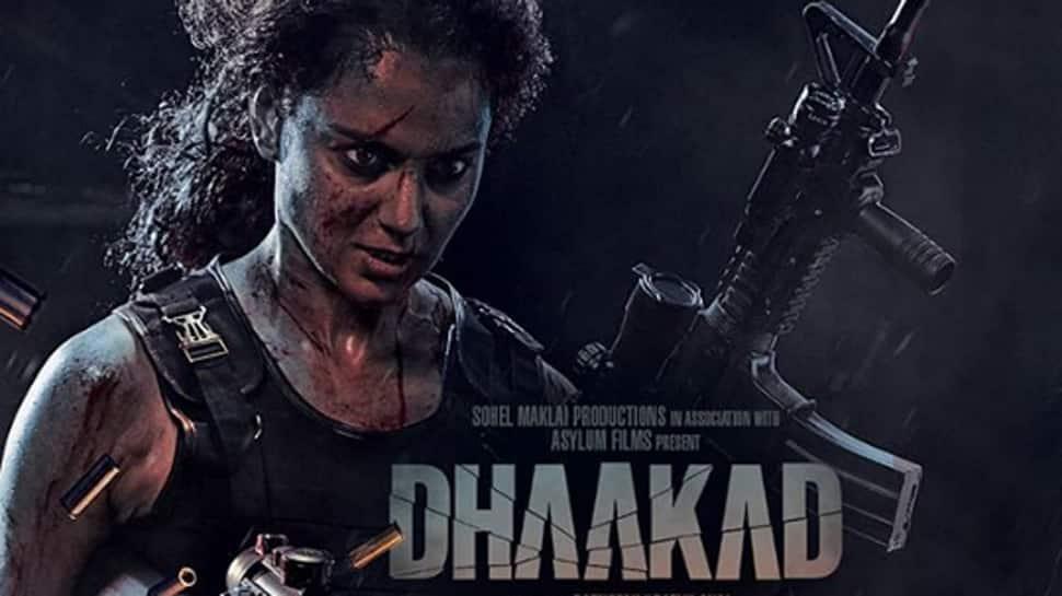 Kangana Ranaut channels her inner 'Rambo' in new 'Dhaakad' poster—See inside