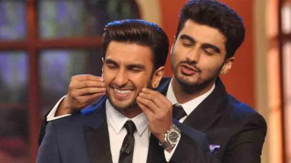 Ranveer Singh is the original chocolate boy of Bollywood, says Arjun Kapoor
