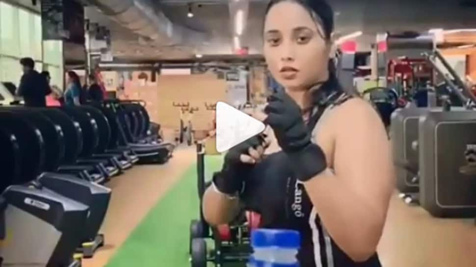 Rani Chatterjee takes up Bottle Cap Challenge like a pro—Watch