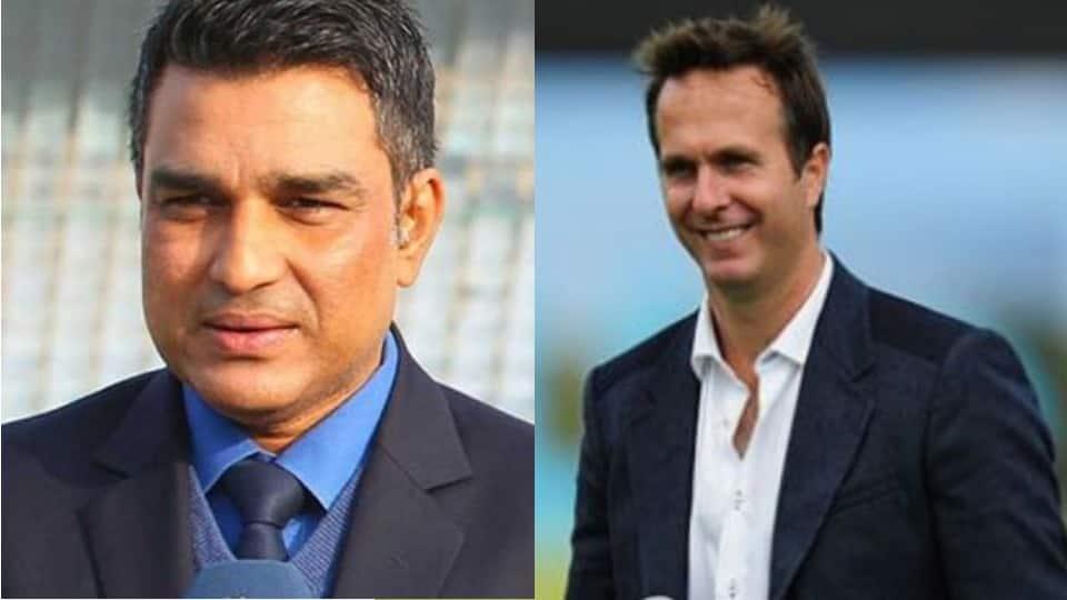 World Cup 2019: Sanjay Manjrekar blocks Michael Vaughan on Twitter over Ravindra Jadeja's jibe