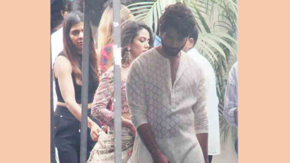 Shahid Kapoor, Mira Rajput shoot for commercial together at Mehboob studio — Pics inside