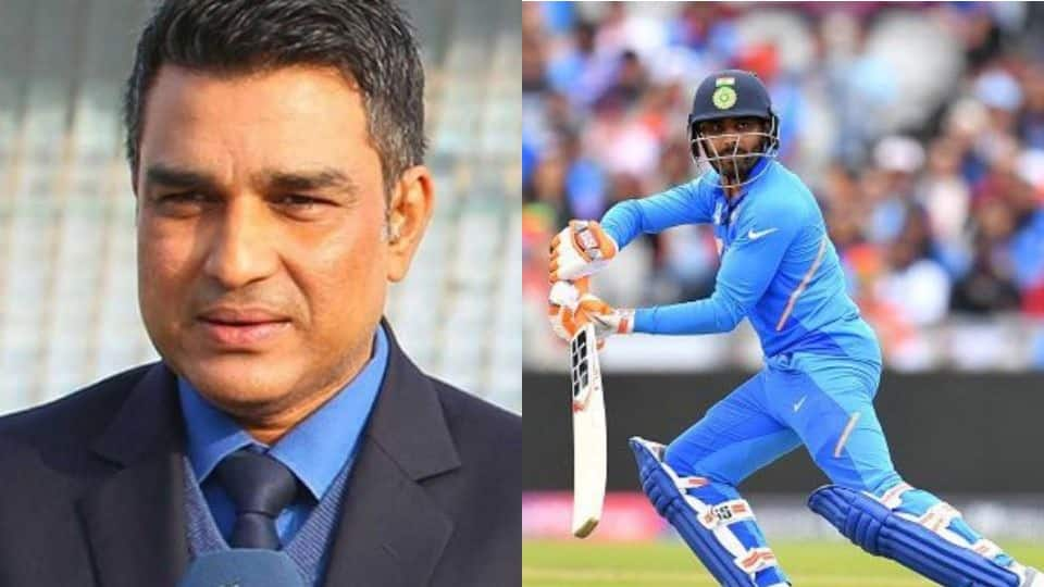 World Cup 2019: Sanjay Manjrekar lauds Ravindra Jadeja for his all-round display against New Zealand