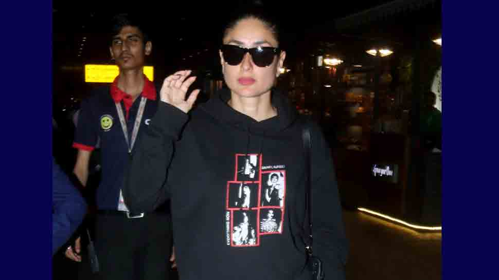 Kareena Kapoor arrives in Mumbai, rocks her uber cool look