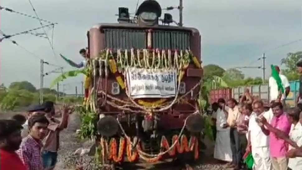Special train carrying 2.5 million litres of water set to arrive in drought-hit Chennai today