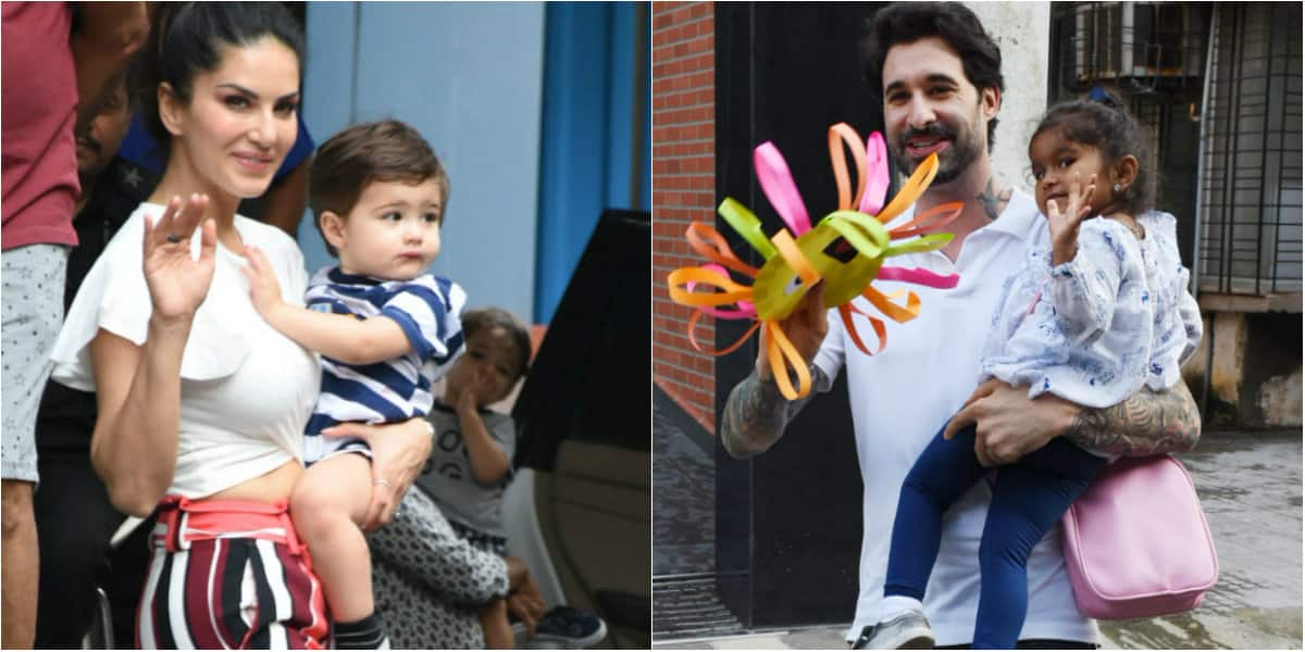 In pics: Sunny Leone and Daniel Weber's day out with kids
