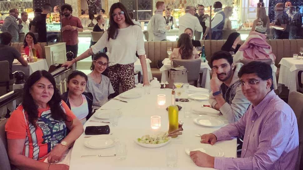 Inside Sushmita Sen's dinner date with boyfriend Rohman Shawl and kids