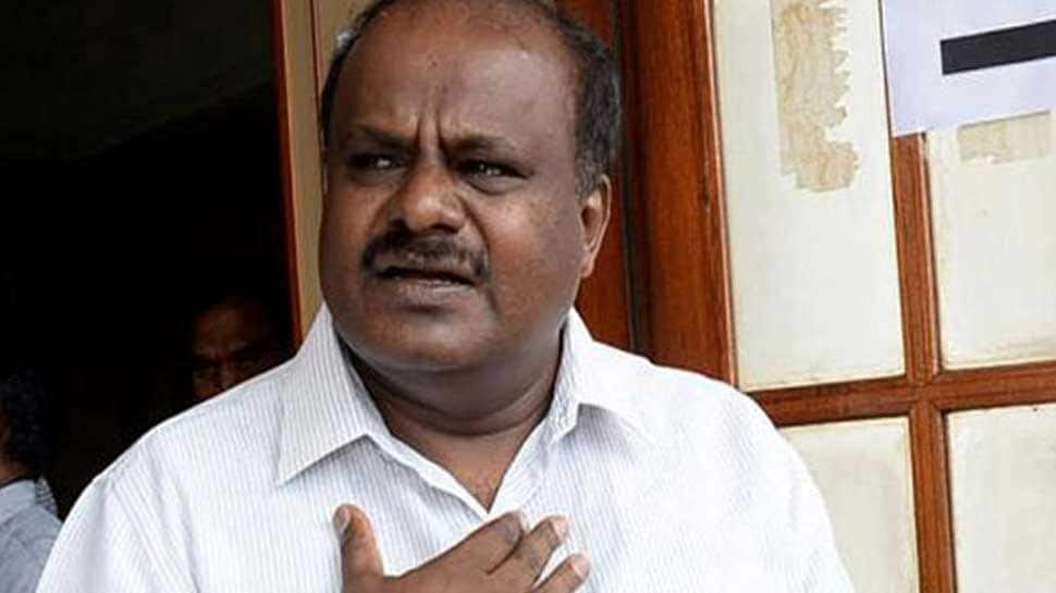 Karnataka crisis: Ready for trust vote, fix time, CM HD Kumaraswamy tells Speaker