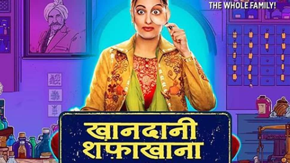 Sonakshi Sinha shares BTS video from 'Khandaani Shafakhana'—Watch
