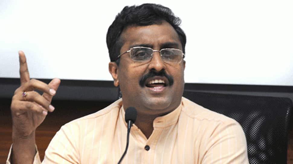 BJP will revive plan for Hindu settlements in Kashmir: Ram Madhav