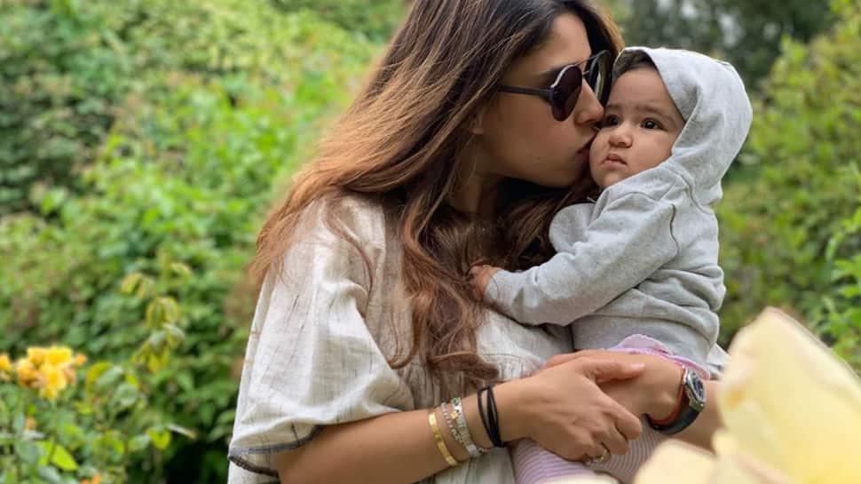 Rohit Sharma posts million dollar pic of wife Ritika Sajdeh and daughter Samaira