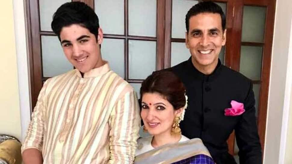 Akshay Kumar and Twinkle Khanna's son Aarav hates cricket | People News |  Zee News