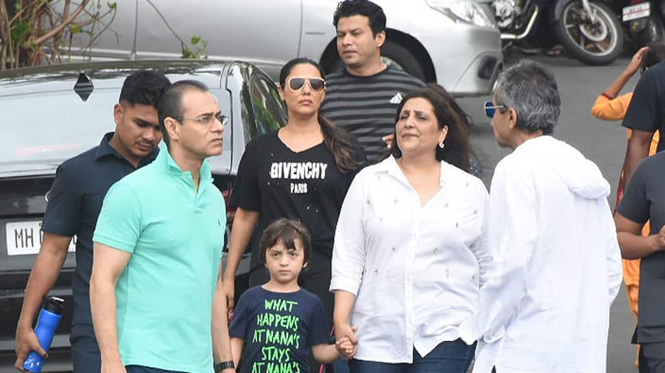 Gauri Khan and AbRam Khan visit Mount Mary Church, get clicked—Photos