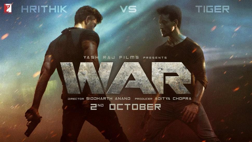 War teaser: Hrithik Roshan-Tiger Shroff's adrenaline pumping face-off is just awesome!