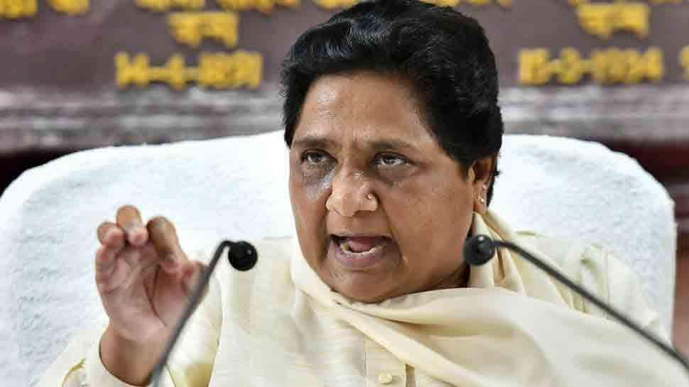 Mayawati targets BJP, says forceful religious chants becoming dangerous trend