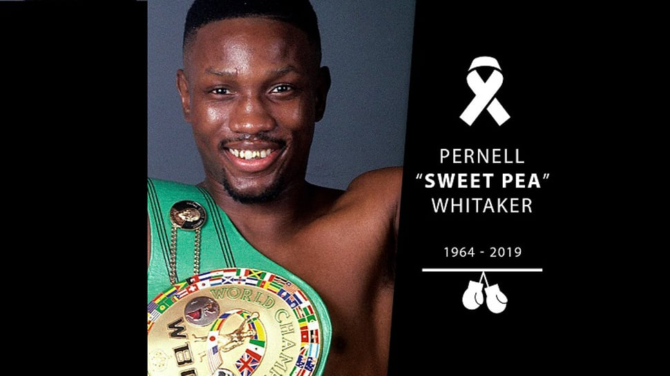 Boxing great Pernell Whitaker dies after being hit by car