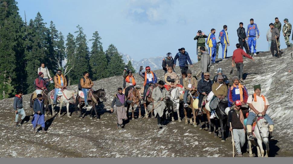 Over 1.90 lakh pilgrims undertake Amarnath Yatra in 15 days