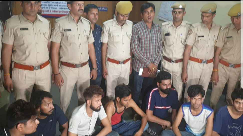 7 arrested for kidnapping, holding 3 captive in Jaipur