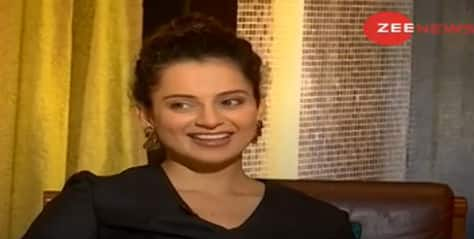 Zee News Exclusive: What Kangana Ranaut said about her argument with a journalist, 'movie mafia' and 'Judgementall Hai Kya'