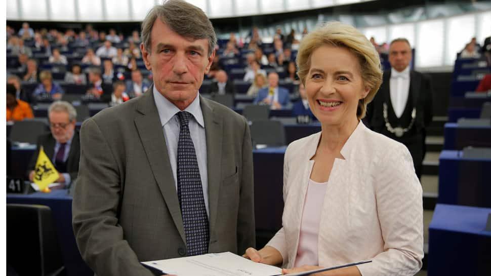 Ursula von der Leyen elected first female European commission president