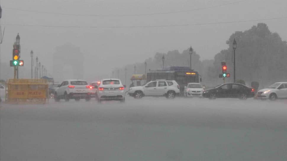 Rains lash Delhi-NCR, light showers to continue till Thursday; residents face traffic snarls