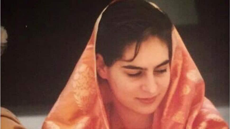 #SareeTwitter: Priyanka Gandhi Vadra shares throwback photo from her wedding day 22 years ago