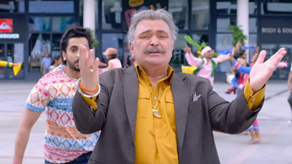 'Jhootha Kahin Ka' song 'Munde Da Character' features Rishi Kapoor showing off fun dance moves