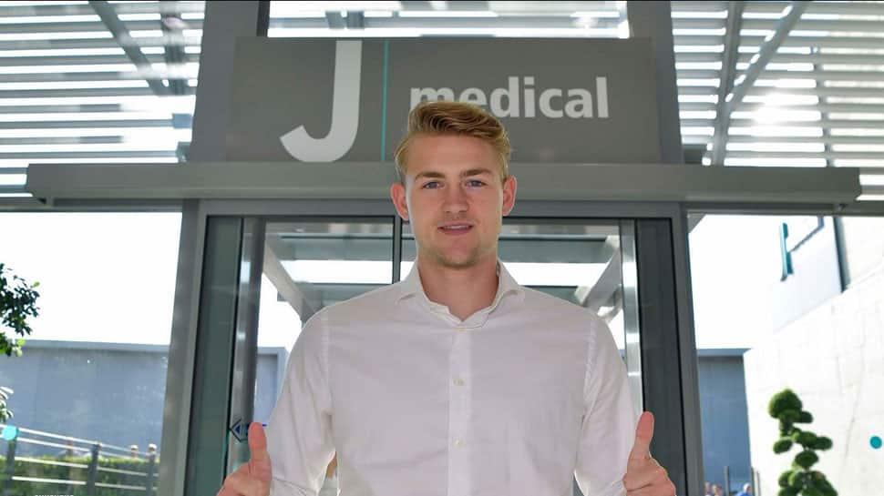 Serie-A: Juventus confirm signing of Ajax defender Matthijs De Ligt