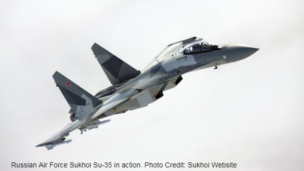 Russia offers Sukhoi Su-35 to Turkey after US stops sale of F-35 Lightning II