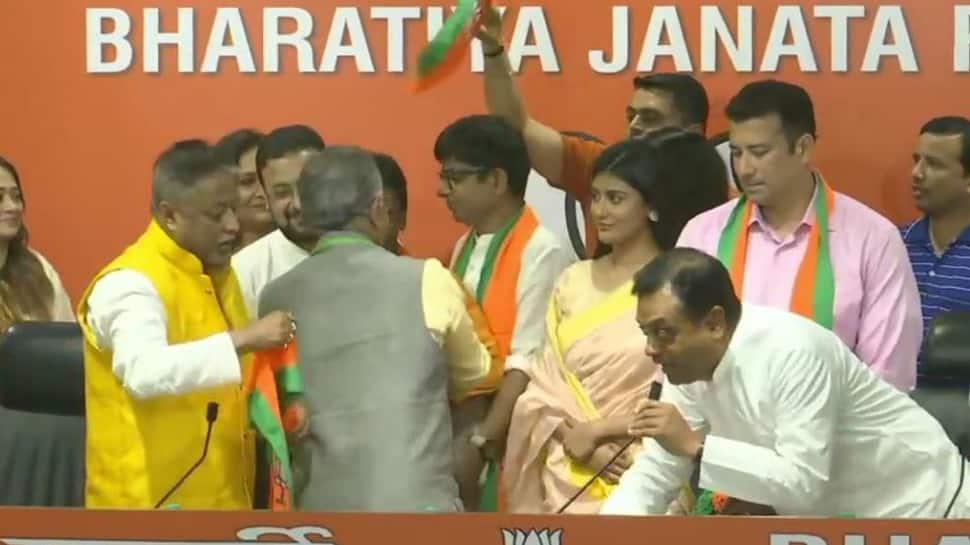 BJP challenges TMC's celebrity quotient by inducting 12 Bengali actors