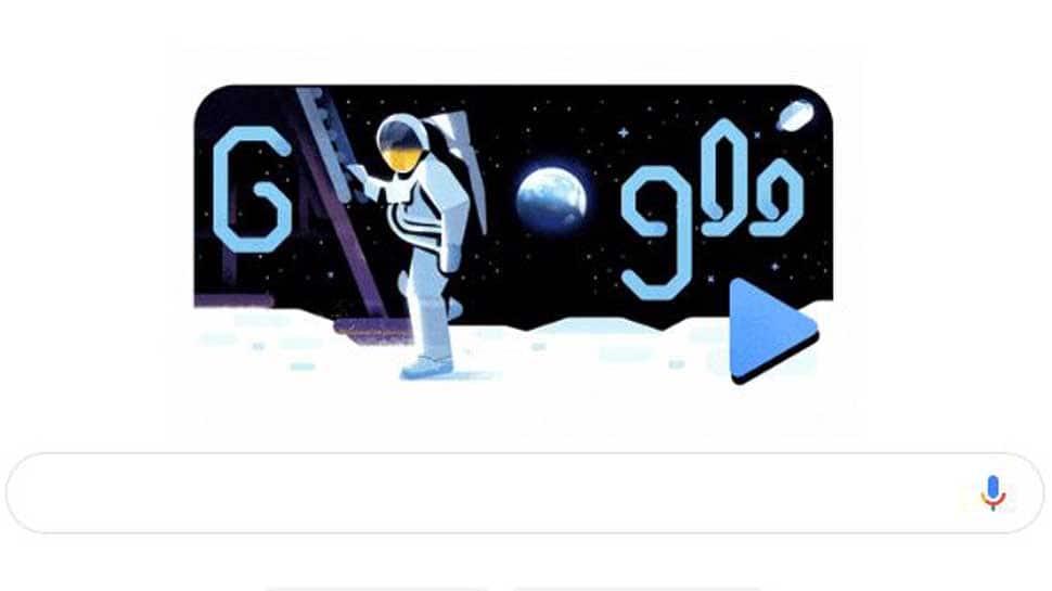 Google Doodle celebrates 50 years of NASA's Apollo 11 mission