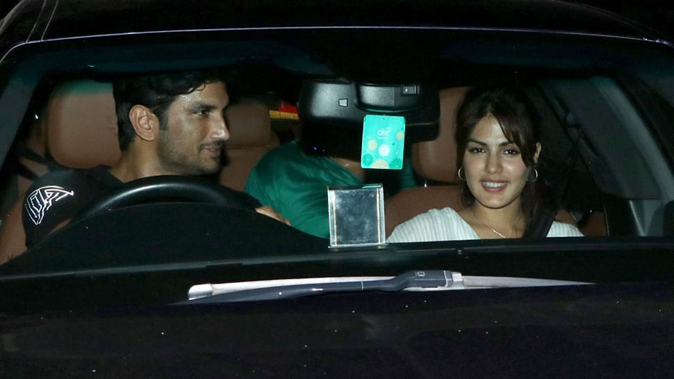 What's cooking between Sushant Singh Rajput and Rhea Chakraborty? See Photos