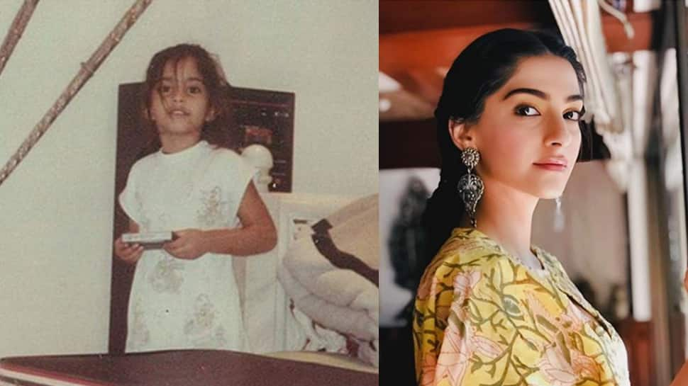 Flashback Friday: Sonam Kapoor Ahuja's childhood pic is a trip to the 80's