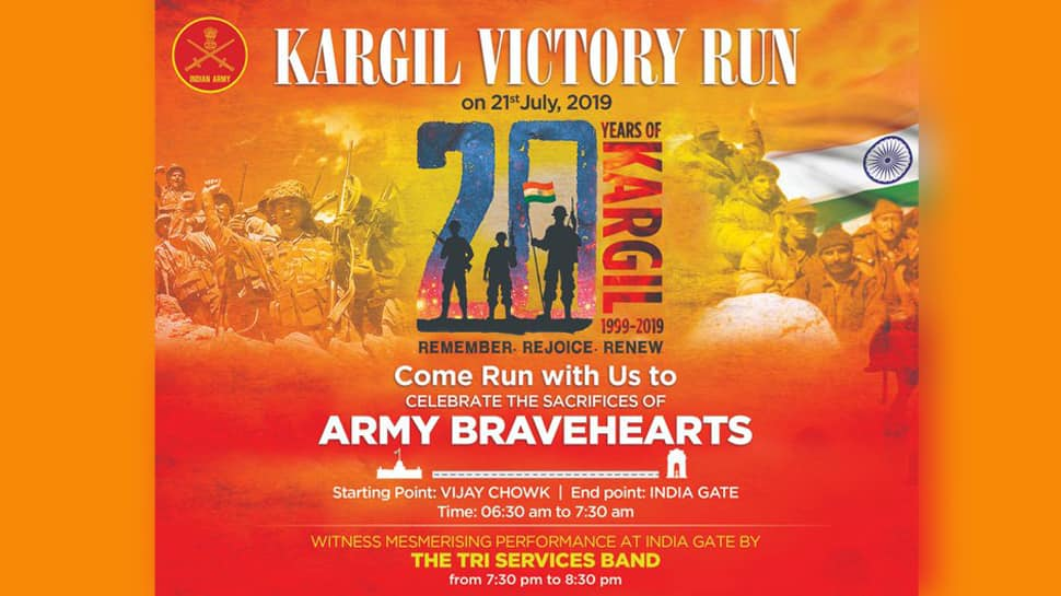 Kargil 'Victory Run' to be held in Delhi on Sunday, join to pay tribute to war heroes