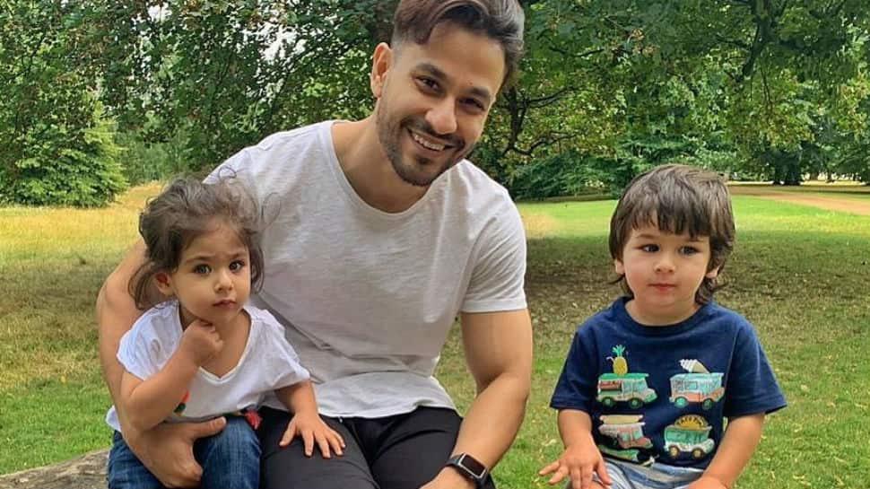 Cousins Taimur Ali Khan and Inaaya Naumi Kemmu light up London and how - Pics
