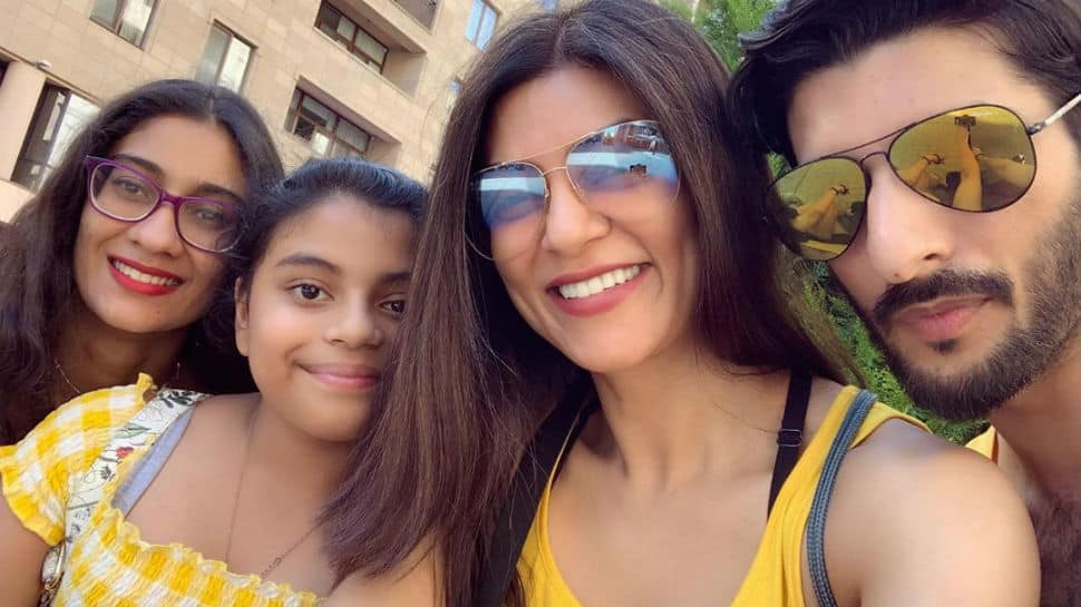 Sushmita Sen shares memories from Armenia vacation with boyfriend Rohman Shawl and daughters Renee, Alisah