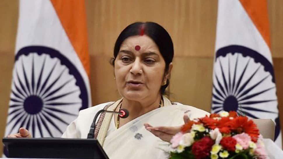 Sushma Swaraj trolls man who said she will be remembered like Sheila Dikshit
