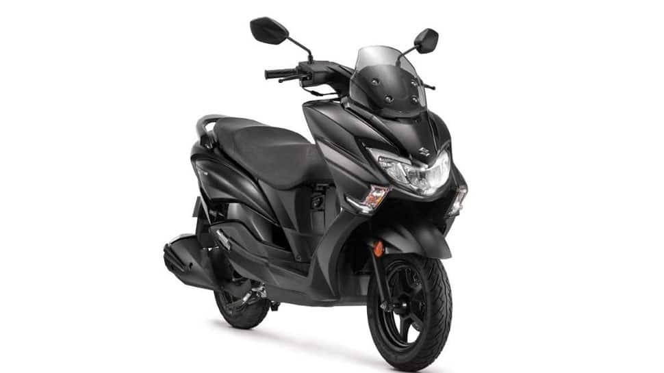 Suzuki Burgman Street gets Matte Black colour edition