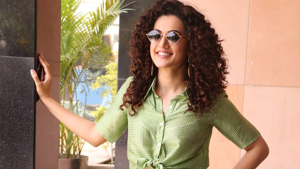 Taapsee Pannu shares moment between reality, drama