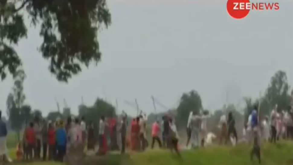 Videos shot before Sonbhadra massacre emerge, show villagers clashing with henchmen