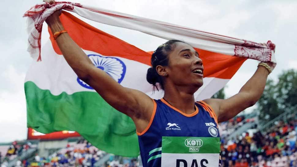 Virat Kohli lauds Hima Das's feat of winning five gold medals in 20 days