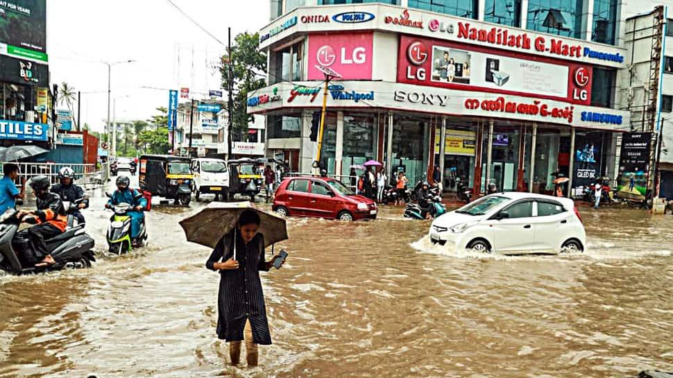 Heavy rain warning in Kerala, Karnataka for next 24 hours; Red alert in Kannur, Kasaragod