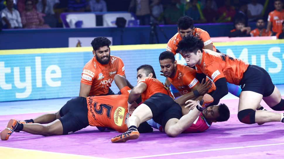 Pro Kabaddi League 2019: U Mumba skipper Fazel Atrachali blames poor initial performance for Jaipur Pink Panthers loss
