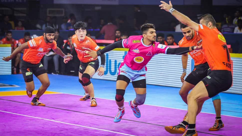 Pro Kabaddi League 2019: Jaipur Pink Panthers coach Srinivas Reddy hails 'collective effort' by players in U Mumba win